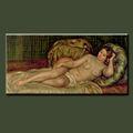 main vente chaude sexy girl peinture image pour la décoration intérieure