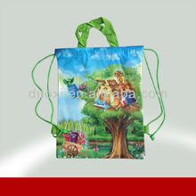 Promotional non woven bamboo handle cheap jute shopping bags 100% manufacturer