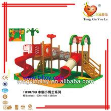 Kids wooden playground equipment TX3070B