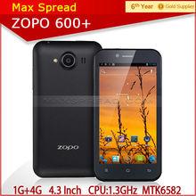 Neweat Original smartphone mtk 6582 quad core unlocked android phone zopo zp600+