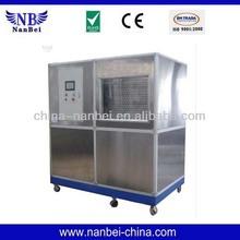 Large capacity plate ice maker machine