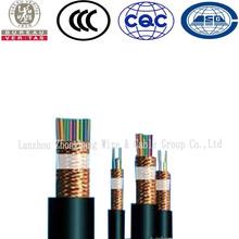 Cu/PVC/CuWS/PVC KVVP Copper Wire Braided Screen Control Cable