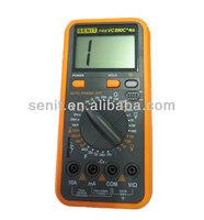 digital multimeter brands VC890C+ with temperature test