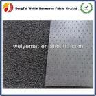 Foot print disposable PVC car floor mat