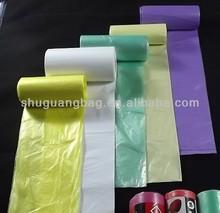 Eco-friendly plastic garage bags medical use trash bags