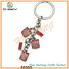 Professional Manufacturer key ring with chain link