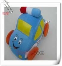 la policía de peluche rellenos de coche de juguete del vehículo