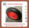 Shock price wheelbarrow usage PU foam wheel 3.00-8