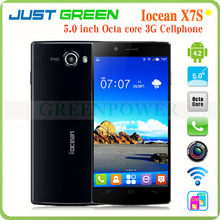 Iocean X7S Octa Core Mobile Phone MT6592 Android 4.2 IPS 5 Inch 1920X1080 Screen 2GB 13Mp Smart Phone Support Dual Sim Card GPS