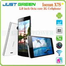 Original 5 inch FHD 1920x1080 Iocean X7S X7 S Octa Core 3G Smartphone MTK6592 1.7GHz 2GB Android 4.2 GPS Multi-language