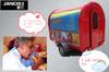 2014 new style JC-3300 falafel machine Colorful Food Cart