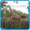 Tema Animal parque acuático de la alta calidad de dinosaurios animatronic vida - tamaño de la jirafa