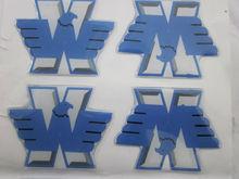 3d car resign epoxy sticker