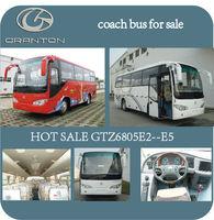 33 seats diesel school bus used coach bus selling GTZ6805