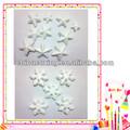 diferentes tipos de isopor natal decorações arte isopor estrelas e flocos de neve