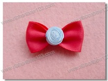 Ribbon bow deco mesh