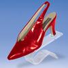 acrylic modern shoes display racks/ stand wholesale