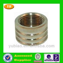 Fine inside threaded cnc machine parts
