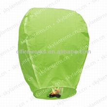 2014 new lime green chinese lantern