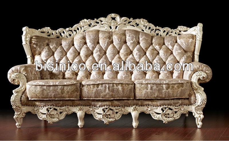 Wijnoogst wit royale woonkamer meubels franse stijl - Royal design muebles ...