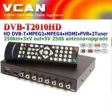 Best China dual tuner dvb-t set top box dvb-t mpeg4 tuner digital pvr usb portabledvb-t lcd tv box cheap price wholesale
