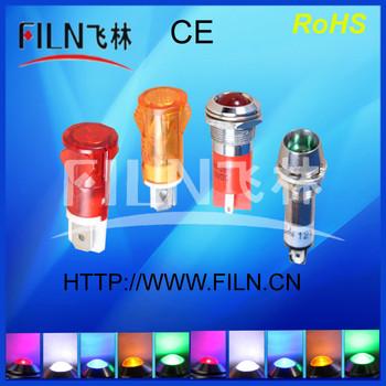8mm 12 volt led indicator lights len 60 degree