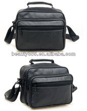 Men leather travel bag Tote business shoulder handbag leather messenger bags for men