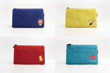 Languo Rubber Duck style yellow cosmetic bag/cosmetic case with nice design in high quality model:LGAM-2689