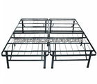 Metal double folding bed
