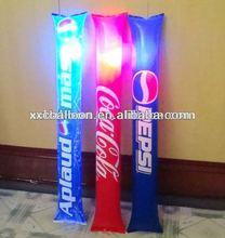 2014 hot selling LED noise maker light up cheering balloon stick