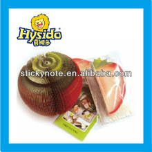 3D fruits strawberry shaped sticky notes