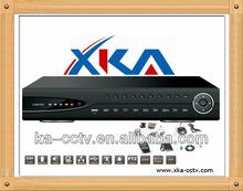 H.264 video compression cctv dvr ,16channel dual stream d1 network h.264 standalone dvr