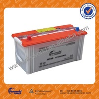 Reconditioned Dry Charged Car Battery N100 12V 100AH