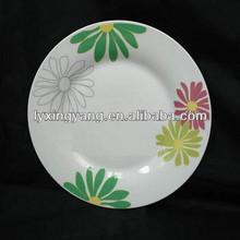decal design tableware ceramic plate dish