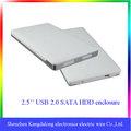 2.5 polegada HDD externe case, Soutien Sata disque dur