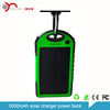 Mobile Solar power bank Backup battery / 5000mah solar charger for iphone 4s