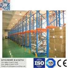 Drive-in racking system heavy duty metal pallet rack storage