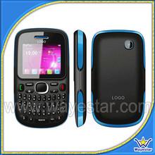 Colorful Phone 2.0 inch Bluetooth FM TV Dual Sim QWERTY Keyboard Cell Phone GSM Quadband