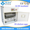 Made in China famous products made in germany chicken egg incubator AI-88 egg incubator for sale in Africa