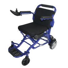 Aluminum power chair with flip up armrest for eldery use