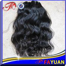 unprocessed 100% pure human hair cheap virgin peruvian hair bundles natural wave