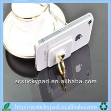 Hot selling phone ring shape logo customized mobile phone holder