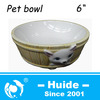 Mini Ceramic Pet Food Bowl