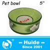 New Round Ceramic Cats Feeder,Green pet food bowl