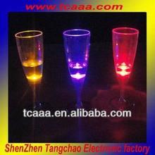 2014 new light up champagne glasses