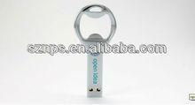 2014 best selling metal bottle opener pendrive