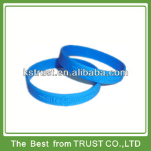 custom made cheap silicone wristband, cheap silicone bracelet, cheap rubber wristband with embossed logo in fast shipment