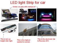 Large quantity produce LED light strip from senruite