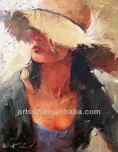oil paintings of women modern new art