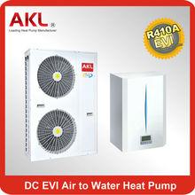 Split Type Inverter Air to Water Heat Pump ,Europe market heating and cooling Heat Pump ,en14825